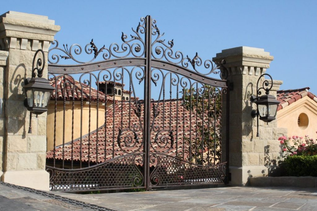 Wrought Iron Gates And Fences In Los Angeles Artmex