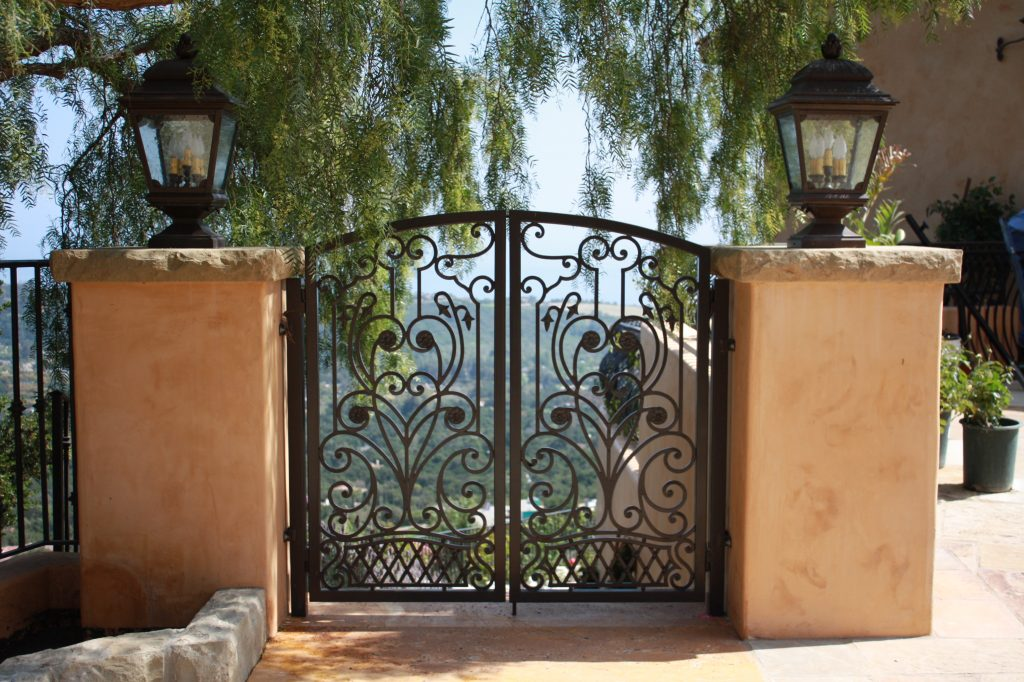 wrought iron gate image 3