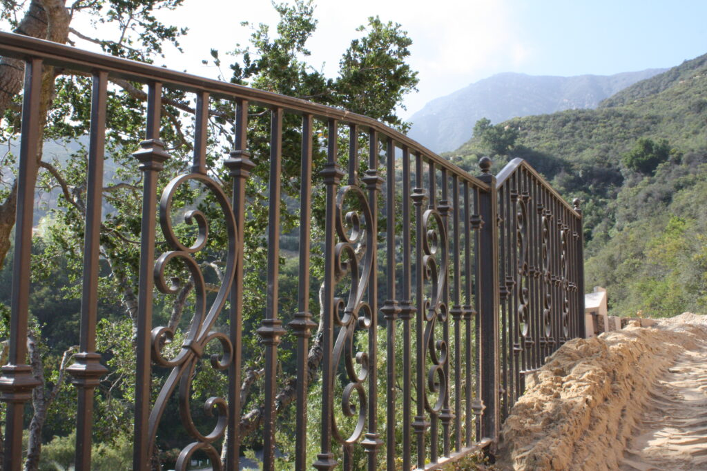 Wrought Iron Fence-Los Angeles, CA