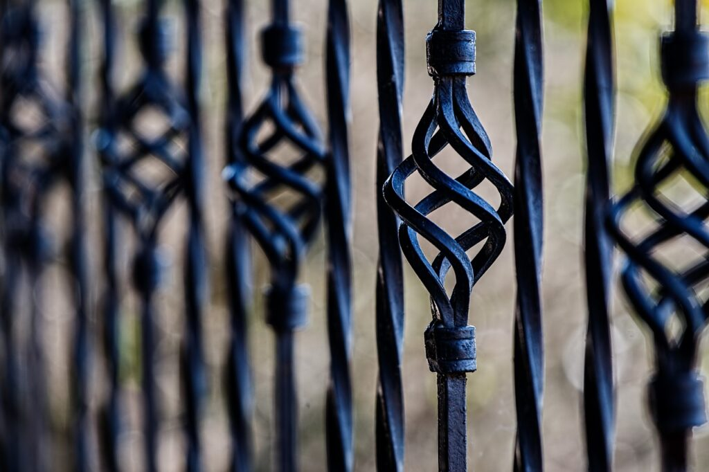 ArtMex Inc. Wrought Iron Fence